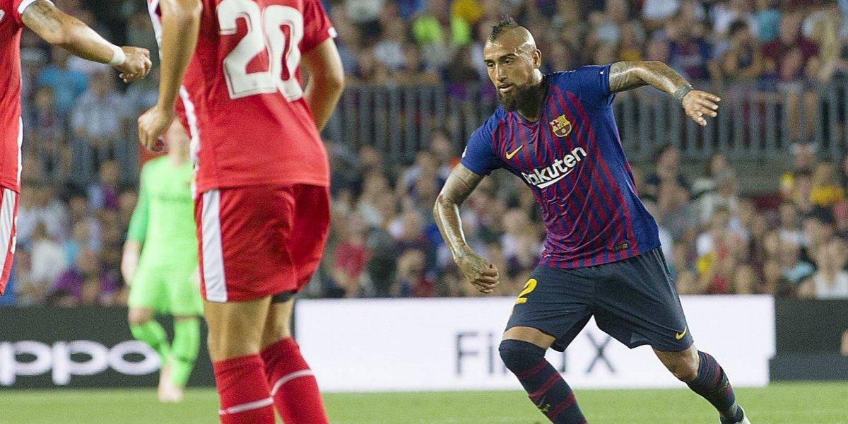 """Arturo Vidal ya está adaptado al Barcelona: """"Cuando uno tiene calidad, puede entrar en cualquier equipo"""""""