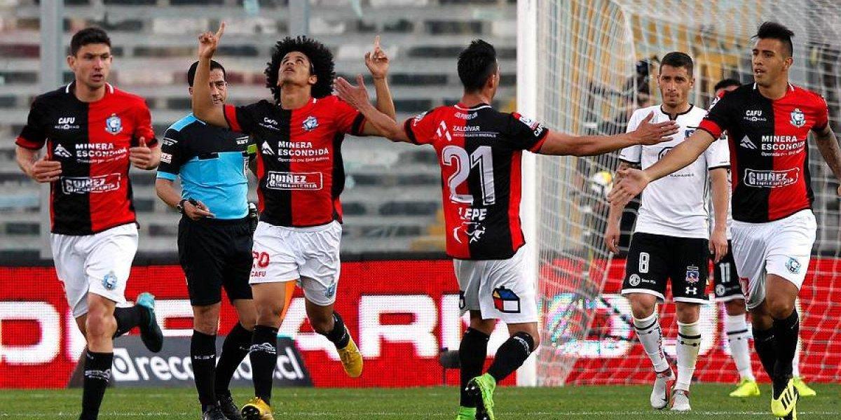 Colo Colo cerró su semana más negra del año y un aguerrido Antofagasta hizo historia en el Monumental