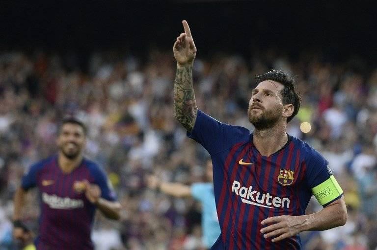 Gol de Messi contra el Girona