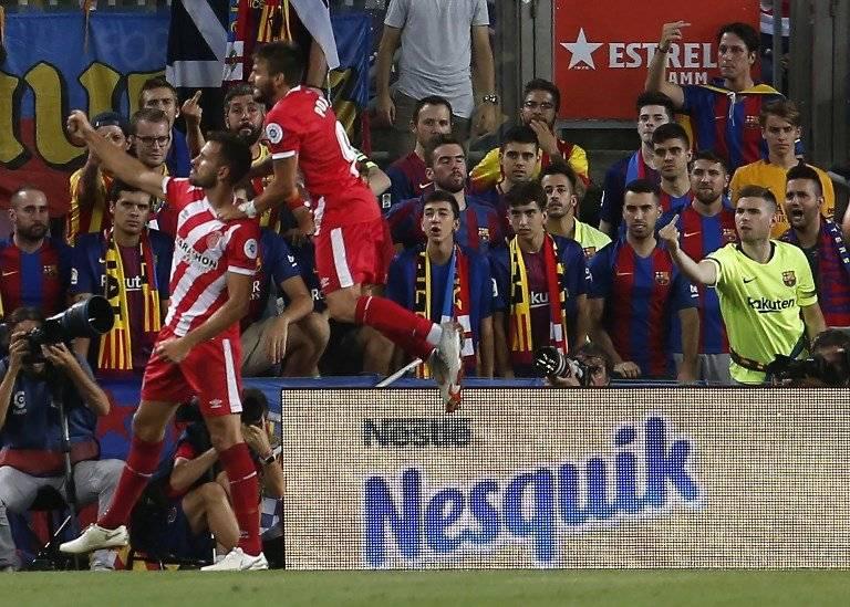 Gol de Christian Stuani contra el Barcelona