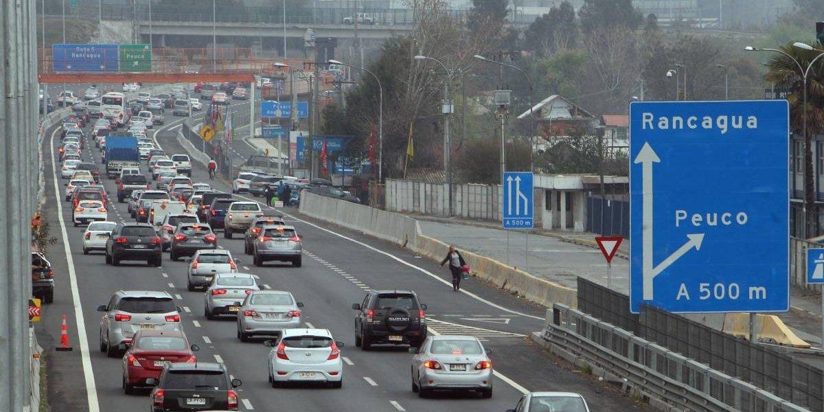 Operación retorno llega a su fin: las medidas en las rutas 68 y 5 Sur para evitar los tacos en el regreso a Santiago