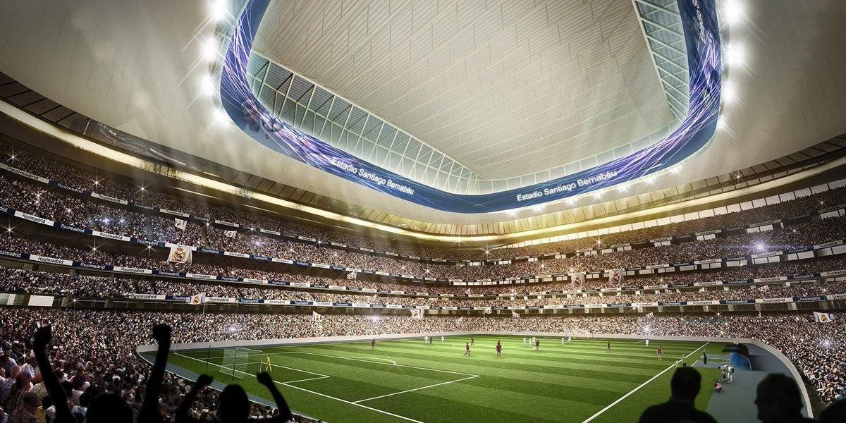 VIDEO:Así lucirá el Estadio Santiago Bernabéu tras renovación
