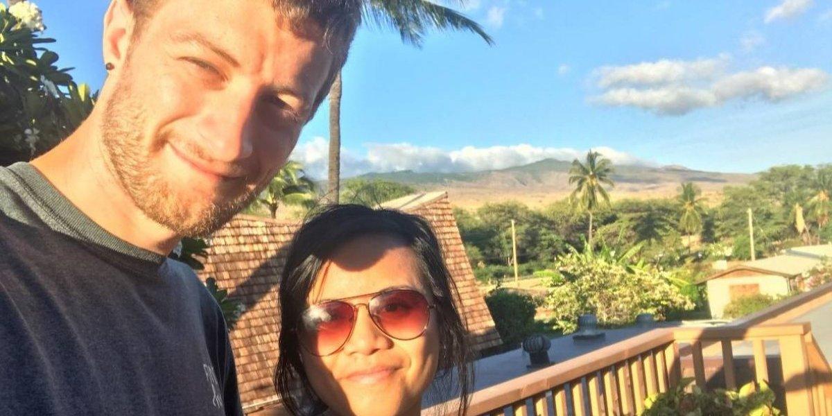 Estaba de luna de miel en Hawaii, salió a caminar y nunca volvió: cinco días después descubrieron su cuerpo y su muerte es todo un misterio