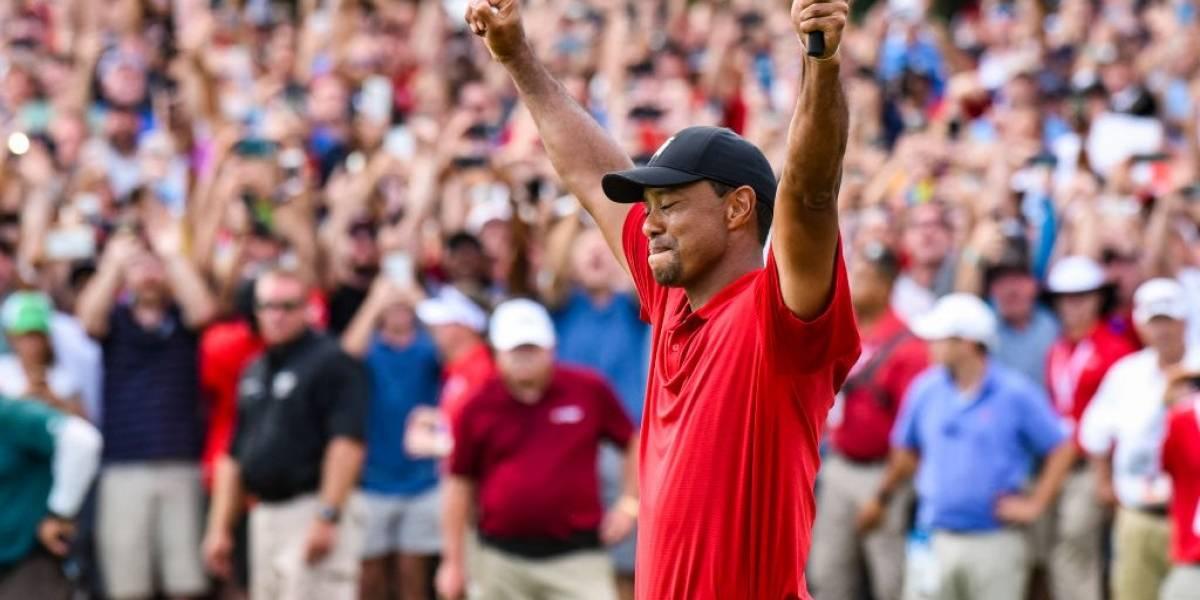 Tiger Woods vuelve a ganar un torneo de golf después de 1.876 días sin conocer la victoria