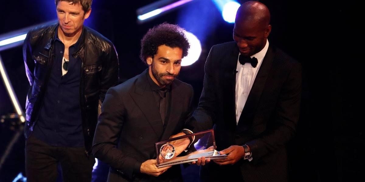 Salah supera Cristiano Ronaldo e Bale e fatura prêmio da Fifa de gol mais bonito