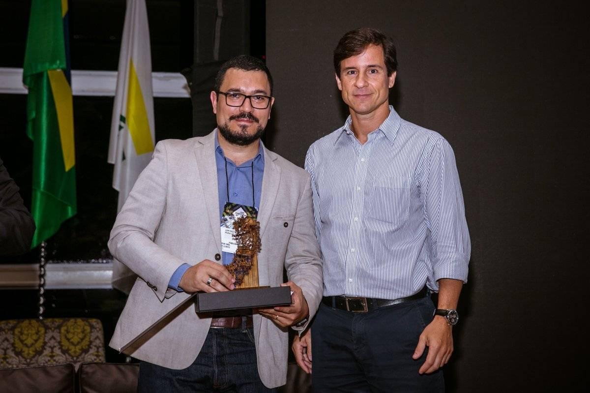 Fabiano Rangel e Cícero Barcelos no fórum Ibef | Débora Benaim