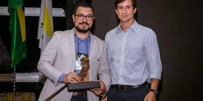 Fabiano Rangel e Cícero Barcelos no fórum Ibef