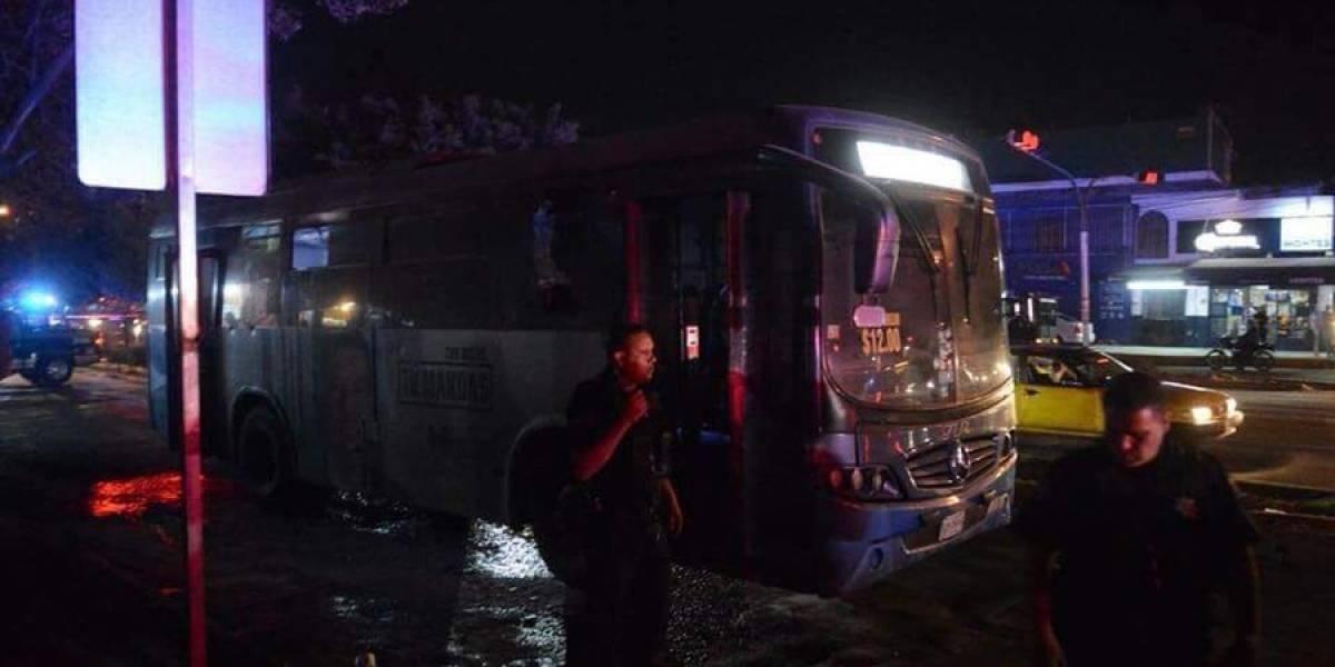 Capturan a tercer implicado en ataque a camión de pasajeros
