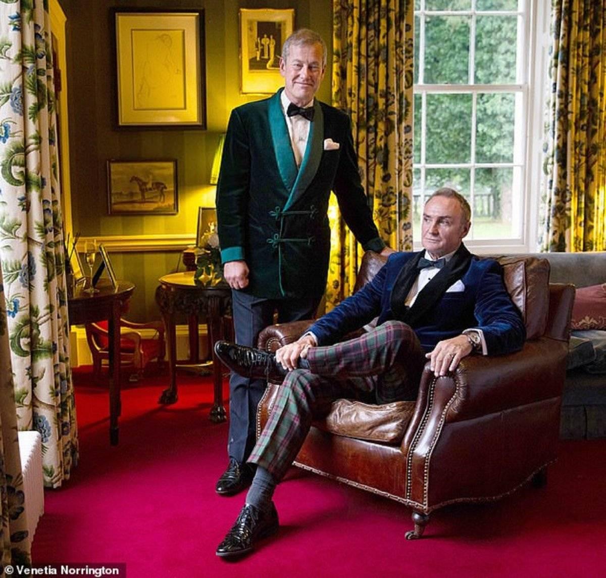Lord Ivar Mountbatten y esposo