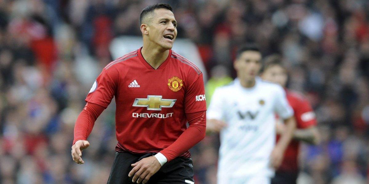 """""""Compite por ser el peor """"7"""" de Manchester United"""": En Inglaterra siguen reventando a Alexis Sánchez"""