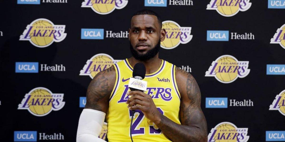 Estoy entusiasmado por jugar aquí y hacer algo especial en Los Ángeles: LeBron James
