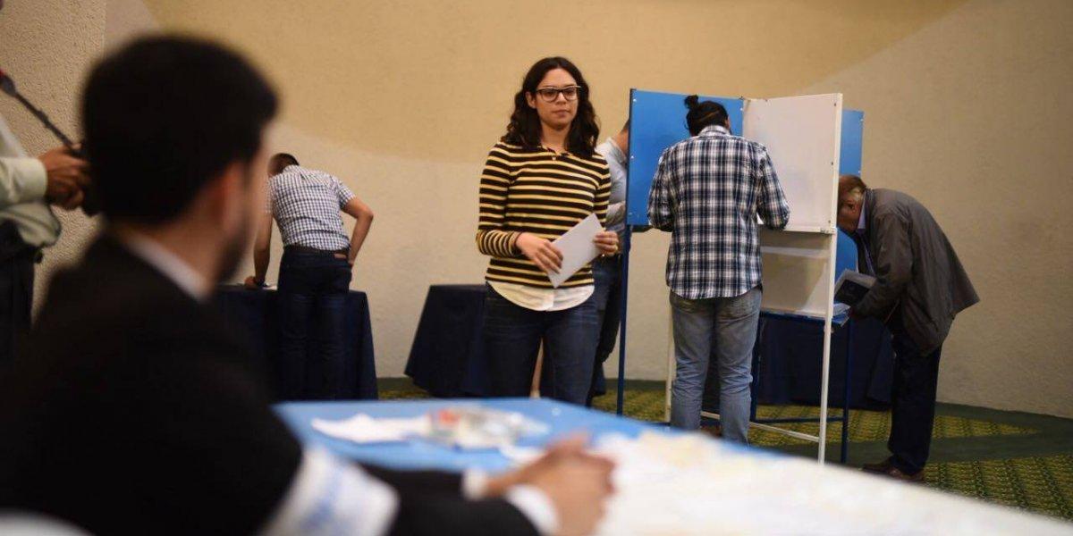 Realizan simulacro de votaciones con modificación de listados para elección de diputados