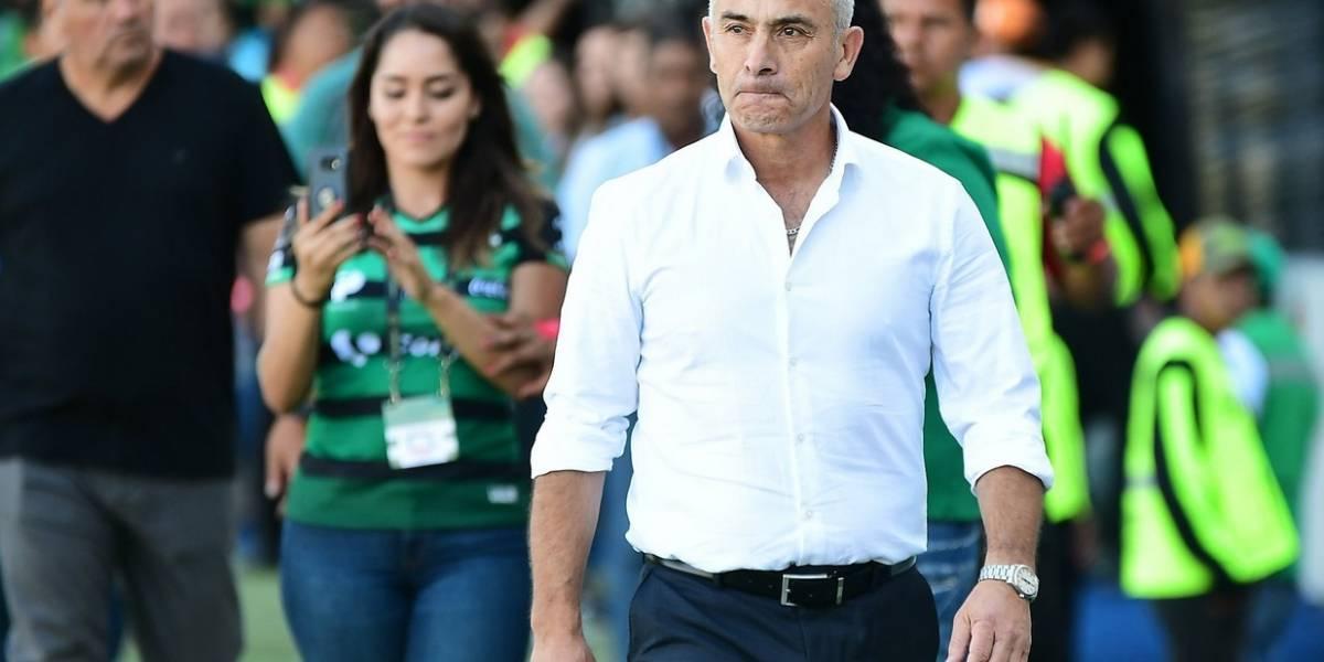 Veracruz de Juvenal Olmos rescató un trabajado empate frente a Santos Laguna