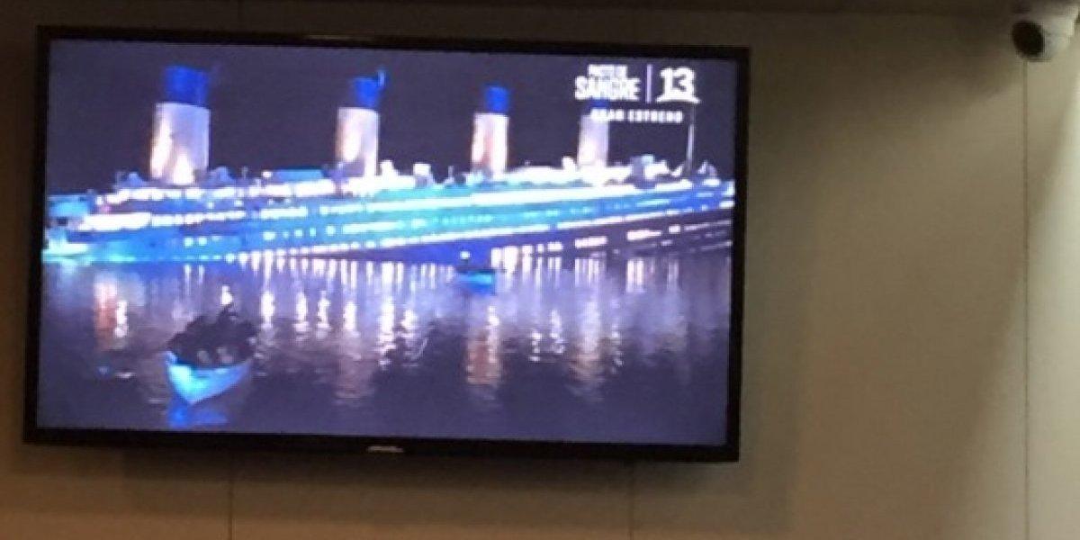 ¿Chiste cruel?: transmiten película Titanic durante movido cruce por el Estrecho de Magallanes y tuiteros enloquecen
