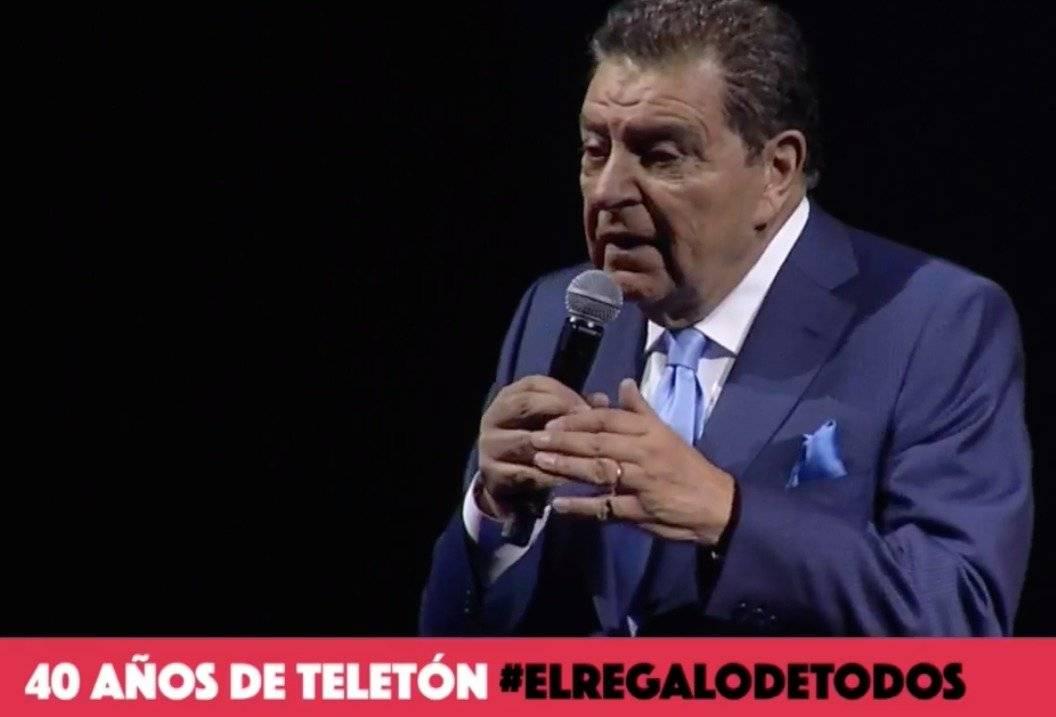 Don Francisco en Teleton 2018