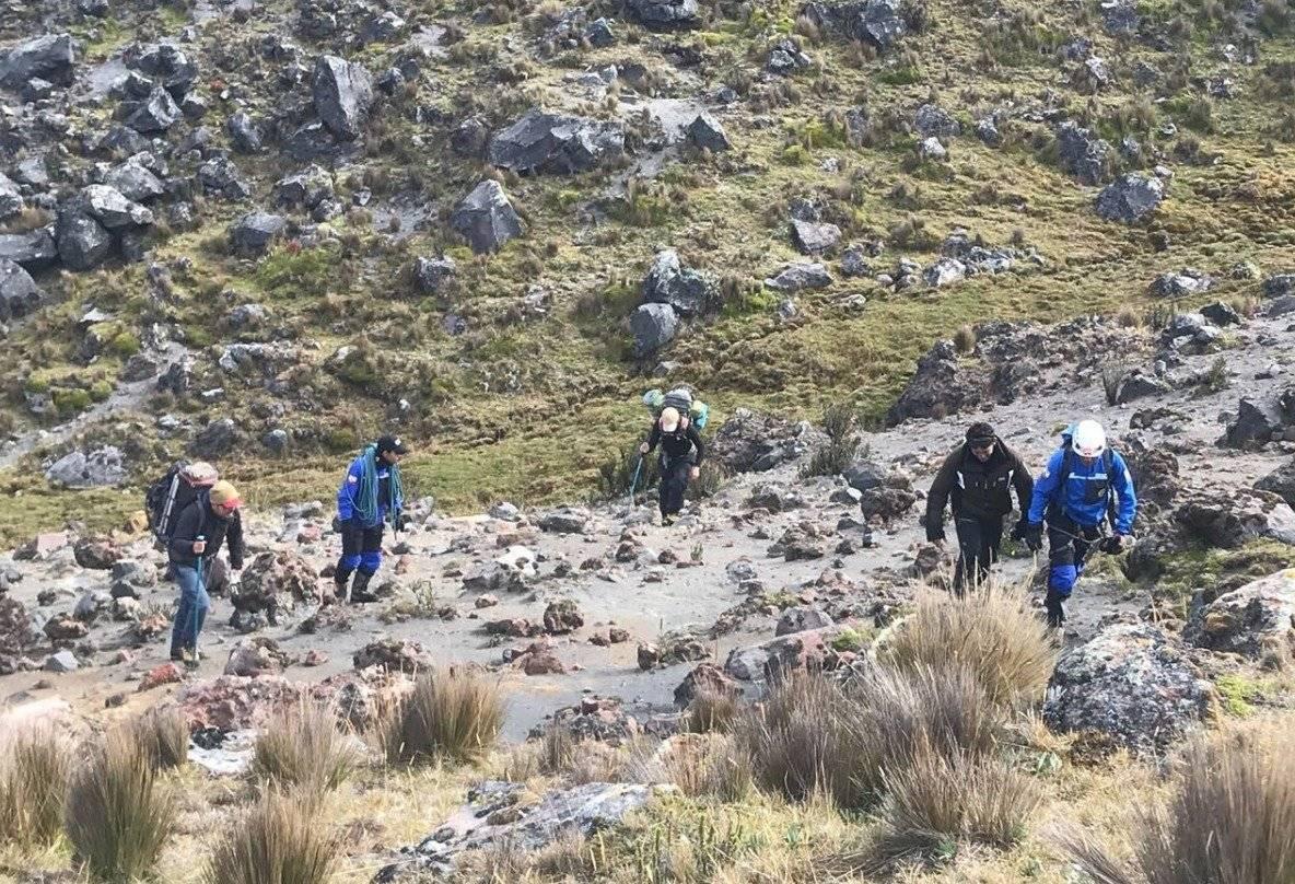 Tres ciudadanos extraviados en volcán Antisana