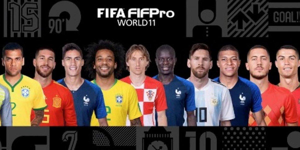 """Con Messi y Cristiano, sin Salah ni Griezmann: el polémico """"Equipo del año"""" de la FIFA"""