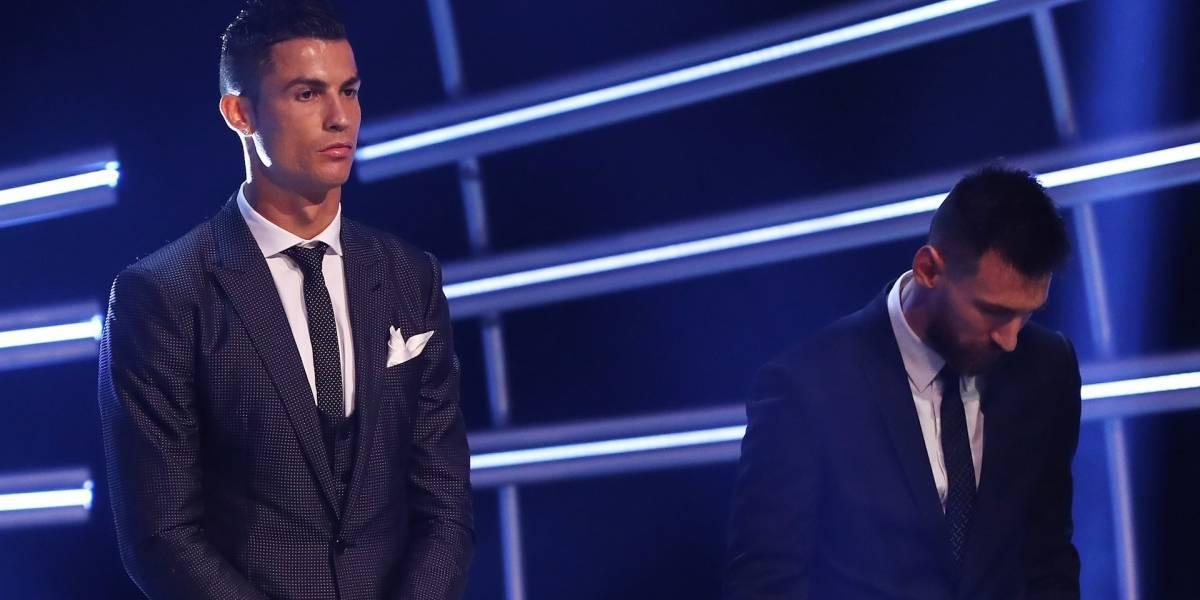 El fuerte señalamiento de la Fifa contra Messi y Cristiano por no asistir a la gala The Best