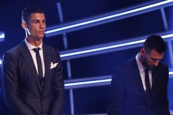 Cristiano Ronaldo y Lionel Messi no asistieron a The Best
