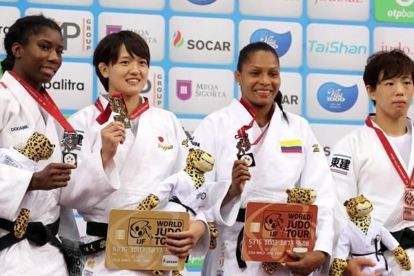 Yuri Alvear ganó medalla de bronce en el Mundial