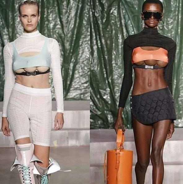 Modelos con tres senos desfilaron en la Semana de la Moda de Milán Instagram