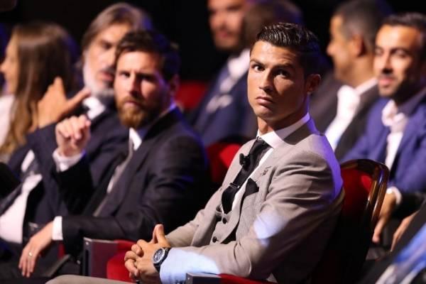 Lionel Messi y Cristiano Ronaldo en la gala de The Best 2016