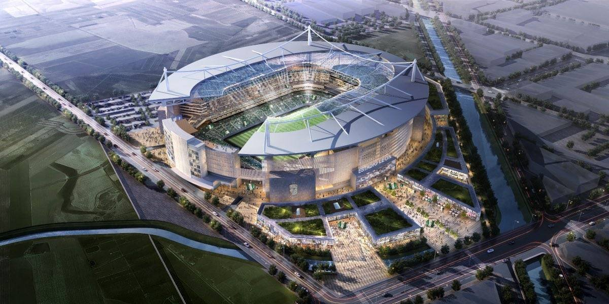 Club León presenta el proyecto de su nuevo estadio