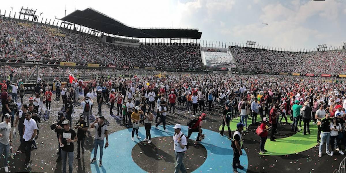 A casi un mes del GP México, queda disponible solo el 10% del boletaje