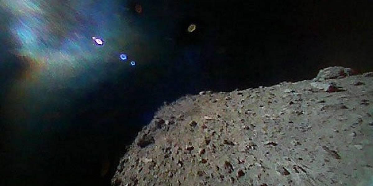 Una hazaña histórica de Japón: estas son las primeras imágenes de robots sobre el misterioso asteroide Ryugu