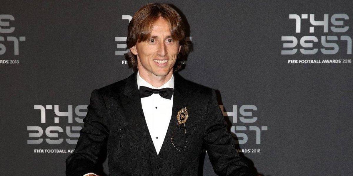 Luka Modric entra en la historia y es el The Best del fútbol mundial