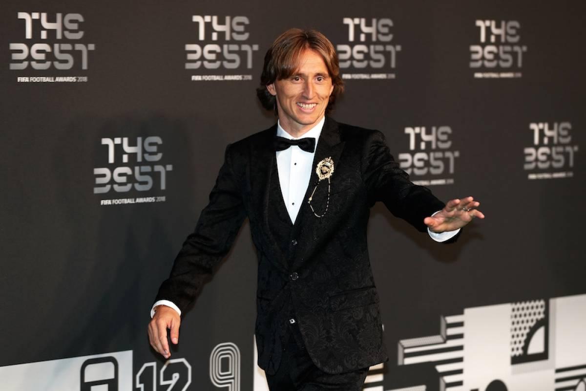 Modric fue el mejor jugador de la FIFA. / Getty Images