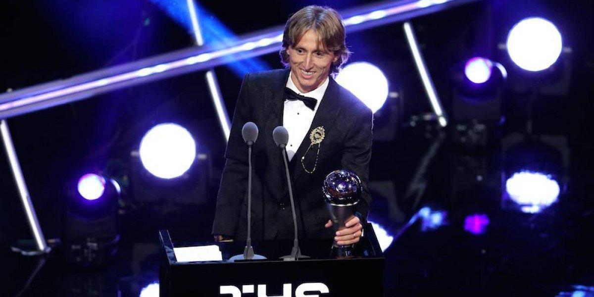Modric termina con hegemonía de Cristiano y se convierte en el mejor jugador de la FIFA