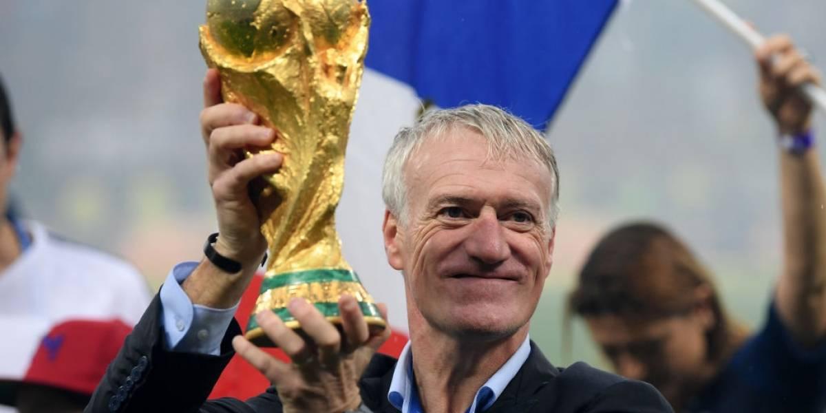 No hay dudas: Didier Deschamps fue elegido el mejor entrenador del año