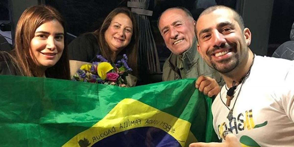 BBB: Família de Kaysar começa a ter aulas de português
