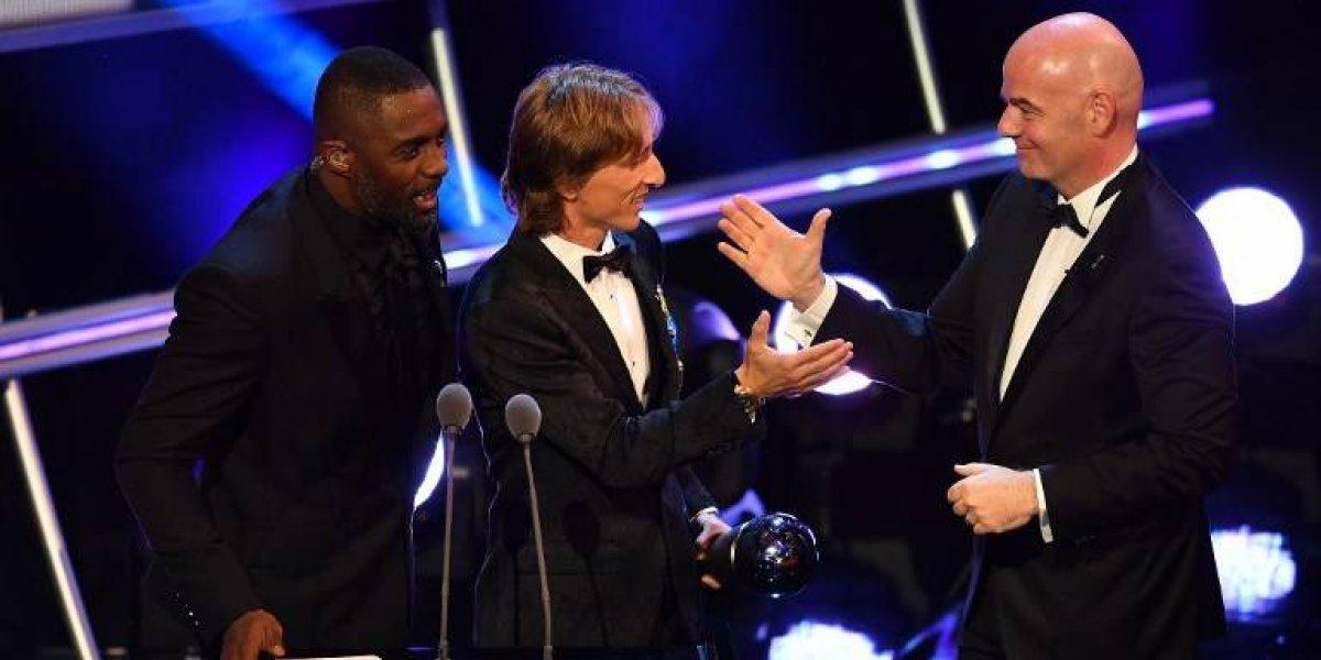 Modrićse corona como el mejorde la FIFA en los premios The Best