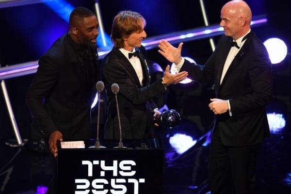 Luka Modrić gana el The Best 2018