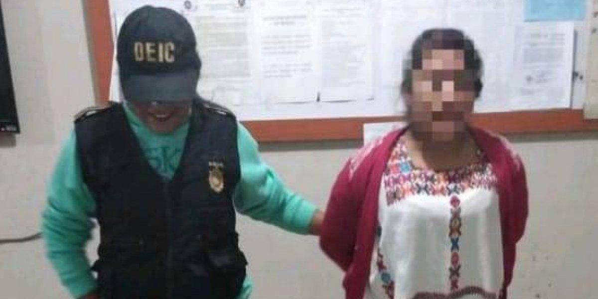 Mujer es capturada por presuntamente haber dado muerte a su mamá