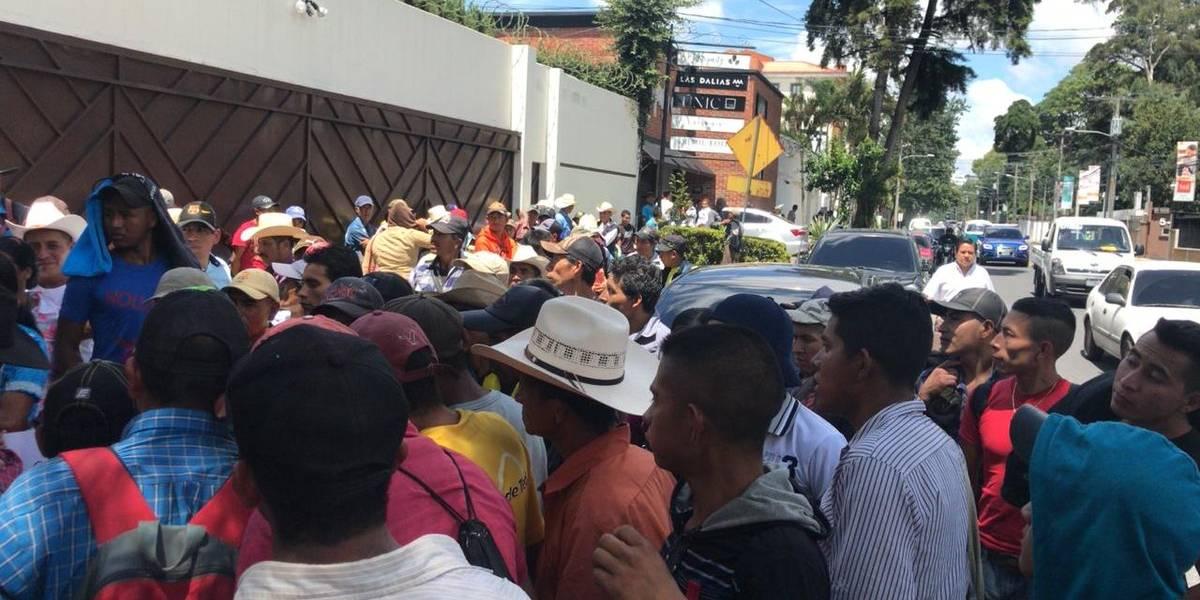 MARN desmiente haber promovido manifestación con pobladores