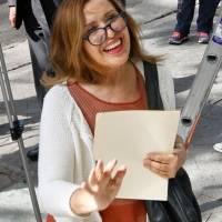 Celebra María Rojo anulación de elección en Coyoacán