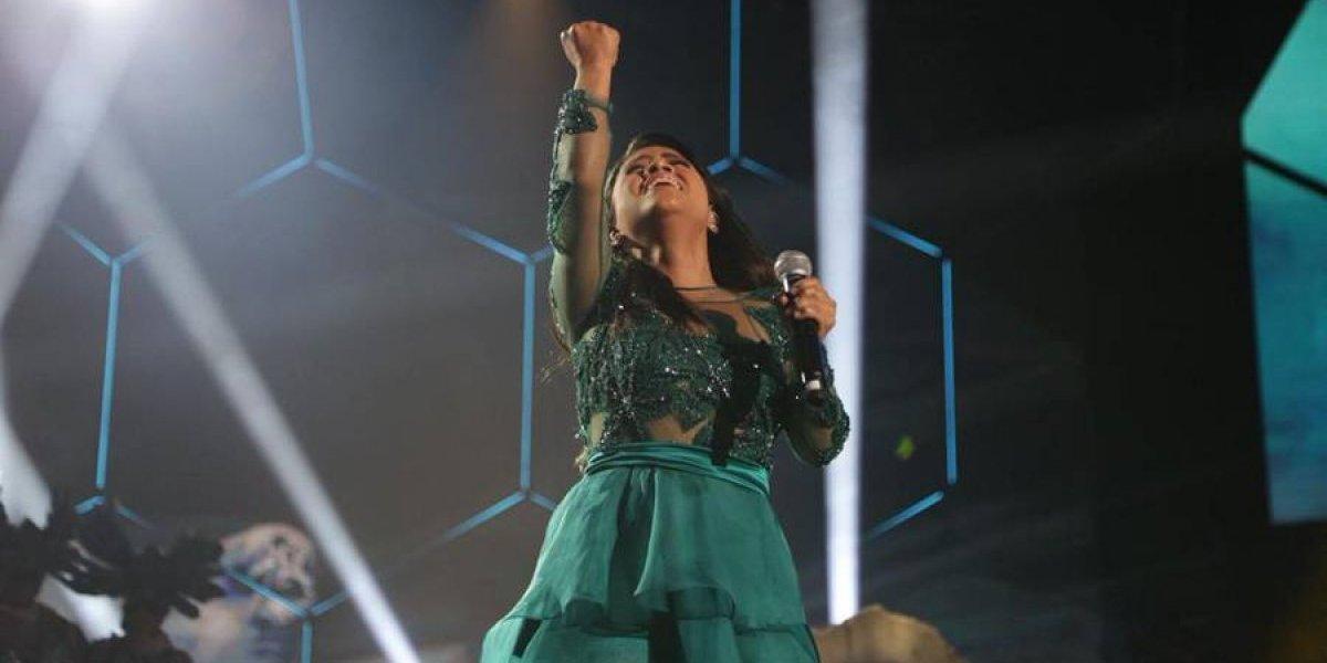 VIDEO. Paola Chuc desafina con su primera canción y no emociona a los jueces