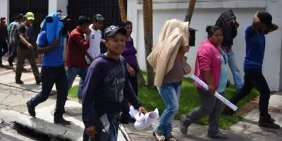 Pobladores en CICIG