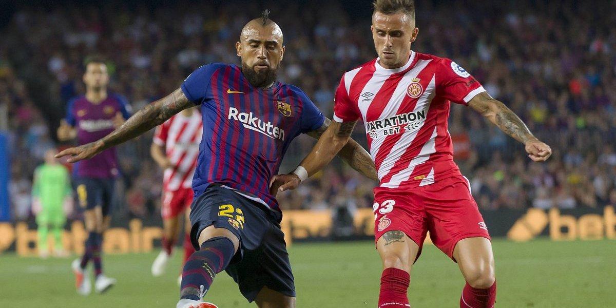 En España creen que Arturo Vidal tiene una deuda física para ser titular en FC Barcelona