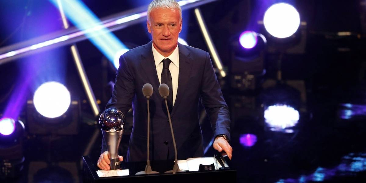 Fifa The Best: Francês Didier Deschamps é eleito o melhor técnico do mundo