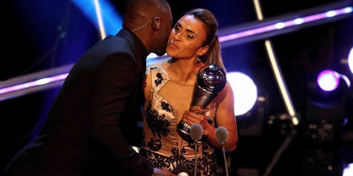The Best: Marta é eleita a melhor jogadora do mundo pela sexta vez