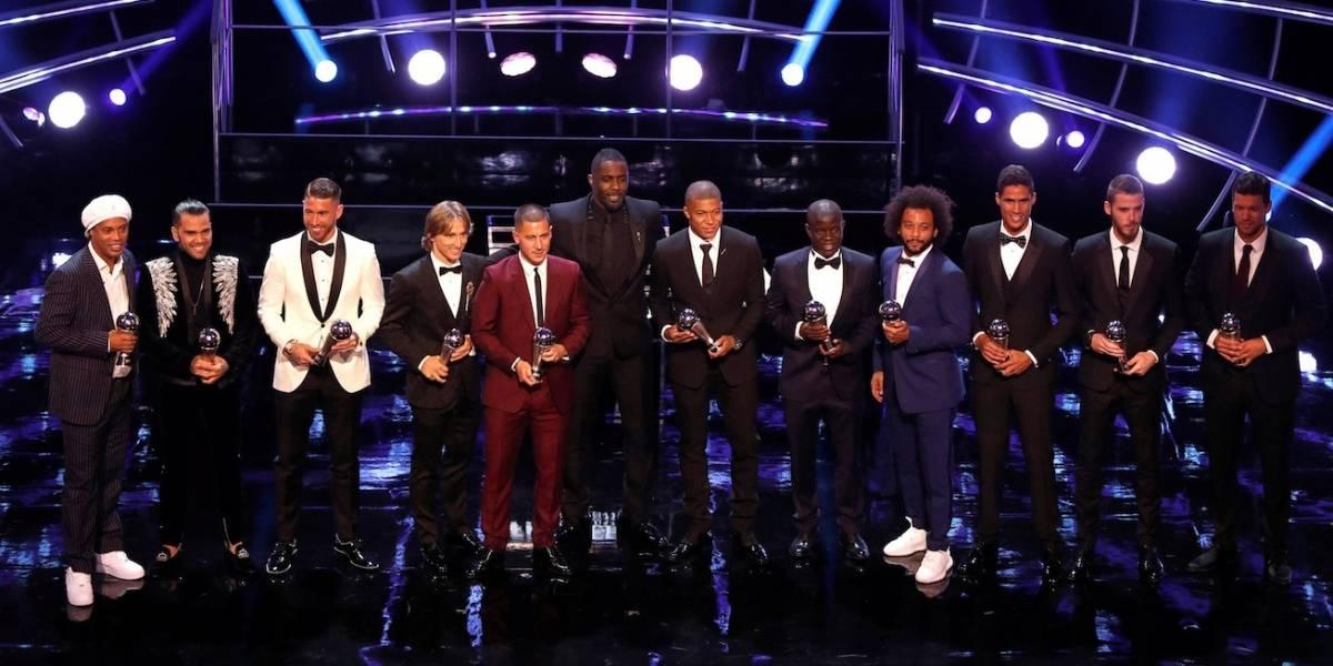 Daniel Alves e Marcelo são os únicos brasileiros eleitos em time ideal da Fifa