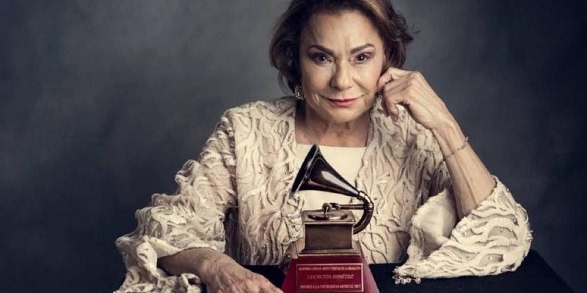Lucecita Benítez sorprende con un rap en composición de Lin-Manuel Miranda