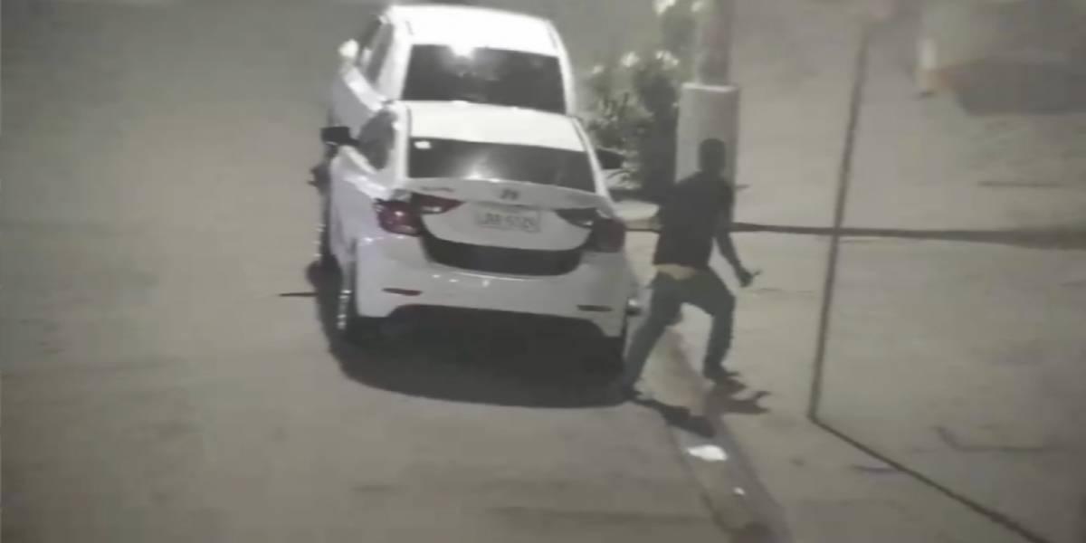Video: Capturan a un presunto sospechoso de robo en Esmeraldas