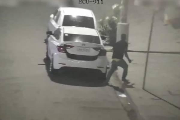 ECU 911: Capturan a un presunto sospechoso de robo en Esmeraldas