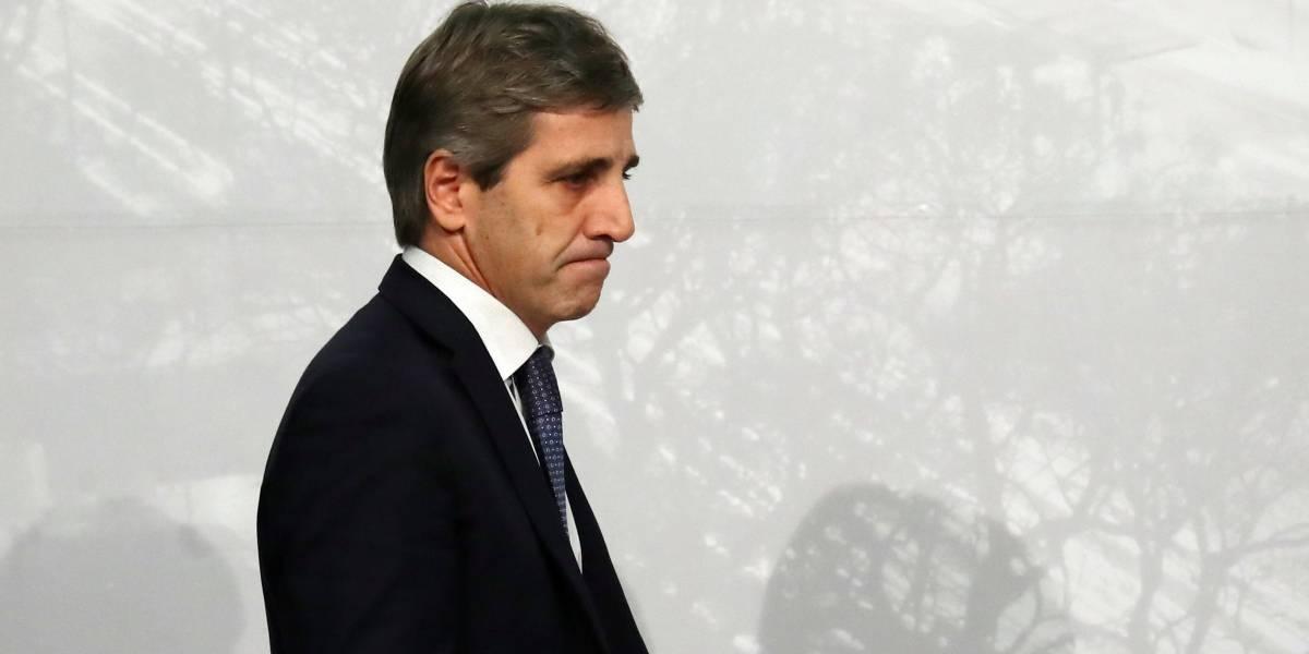 Presidente do Banco Central da Argentina, Luis Caputo pede demissão