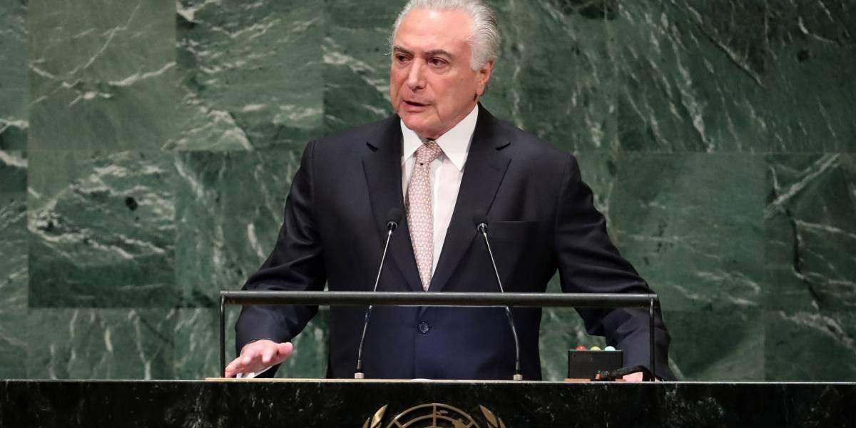 'Temos orgulho de nossa tradição de acolhimento', diz Temer na ONU